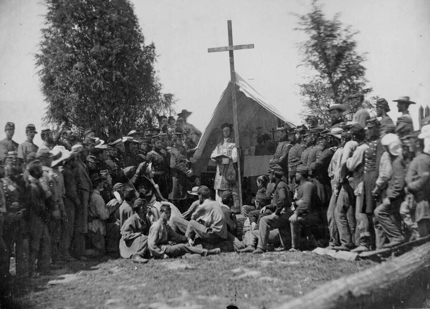 Military life during civil war