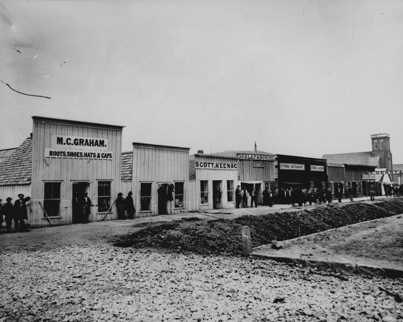 Civil War Photos - Quartermaster, Sutler and Commissary